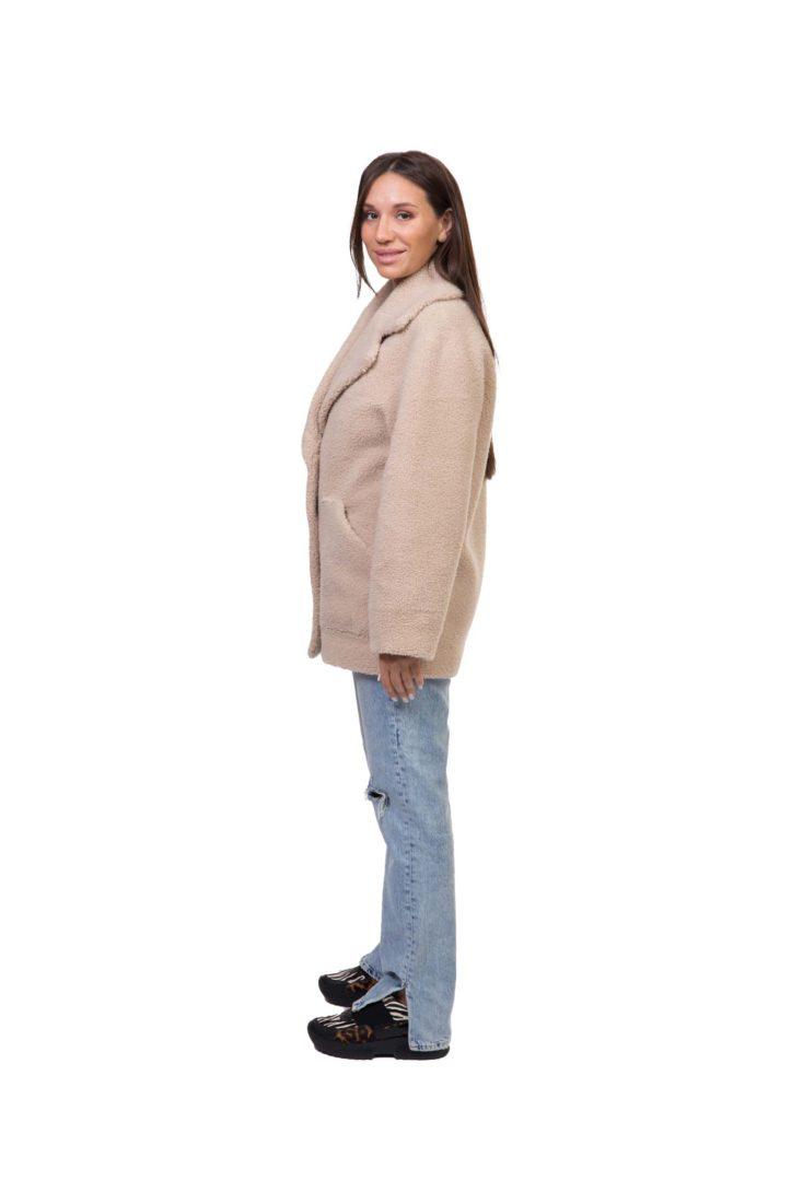 Куртка женская из экомеха GRV Premium Furs M-2119/1