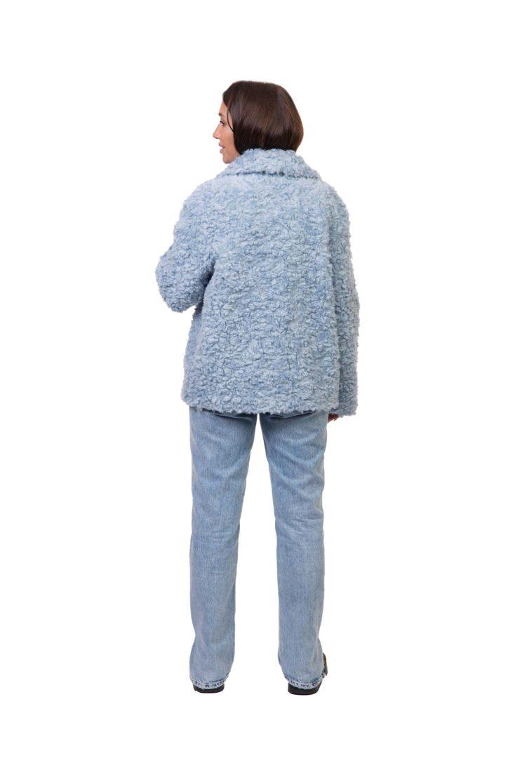 Куртка женская из эко-меха GRV Premium Furs M-2073