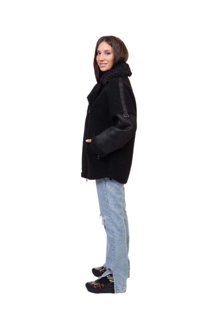 Куртка женская из эко-меха SOFIA C-56