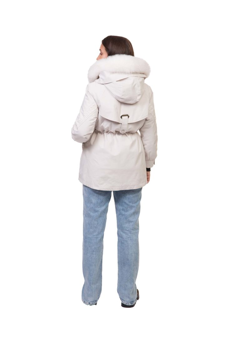 Куртка женская с подкладом из меха кролика Империя Меха Р005