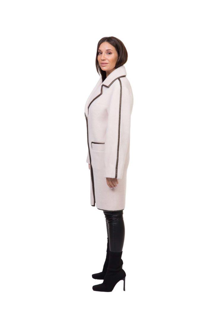 Пальто из эко-меха GRV Premium Furs M-2110